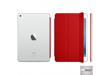 Capa Tablet APPLE Smart Cover poliuretano (iPad Mini) vermelha