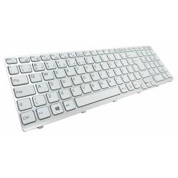 Keyboard SONY VAIO SVE15 WHITE EN-EN