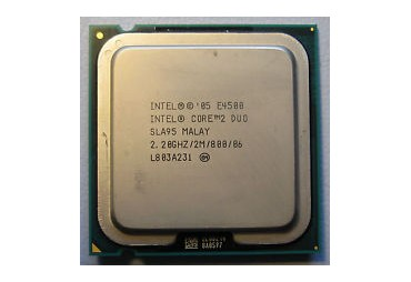 Intel® Core™2 Duo Processor E4600 2M Cache, 2.20 GHz, 800 MHz FSB P/N E4500, SLA95