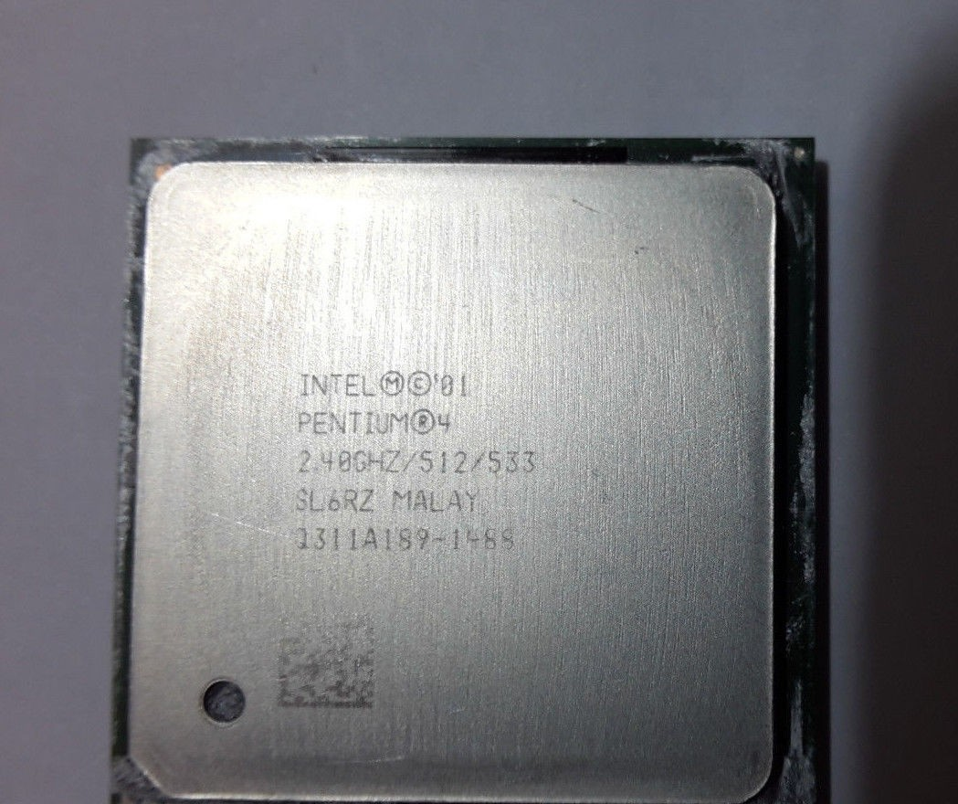 Intel Pentium 4 Cpu 24ghz 512 533 Socket 478 Sl6rz Pcbest A Sua Processor Loja De Informtica