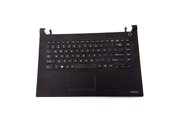 Toshiba Satellite Cl45-c4332 Laptop Palmrest Touchpad Keyboard AM1D7000300 Base