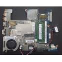 Motherboard para Toshiba NB500 com cooler e dissipador