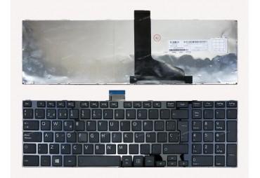 Teclado Toshiba L850 Preto com Frame PT-PT