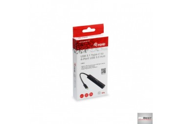 USB 3.1 TYPE-C TO 4-PORTAS USB 3.0 HUB