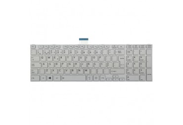 Keyboard TOSHIBA Satellite C855 L850 WHITE EN-EN