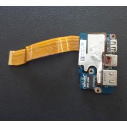 USB/Lan module for Toshiba M800-103 (PPM01E-00G01LPT)